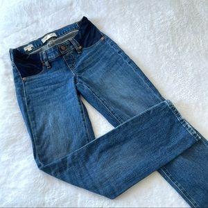 Madewell maternity slim boy jeans sz 23 (ж9)